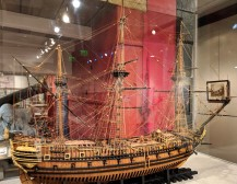 From the 1600's, one of the oldest ship scale model in the world