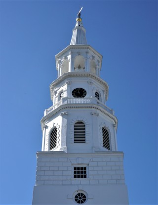 Charleston church steeple