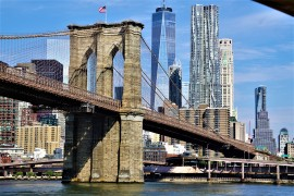 Brooklyn Bridge and Freedom Tower