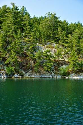 Baie Fine water