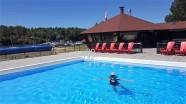 Niki swimming