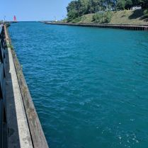 Canal from the Lake to Charlevoix