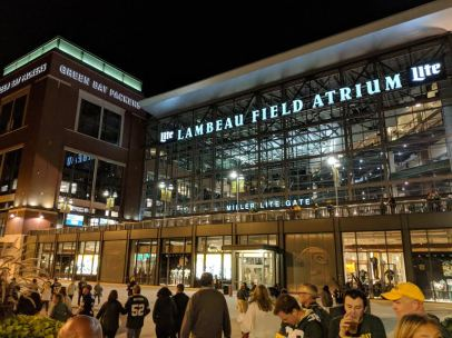 Door County Lambeau atrium