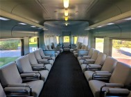 First class lounge car