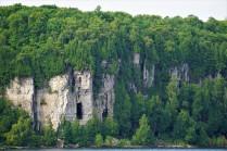 Door County cliffs