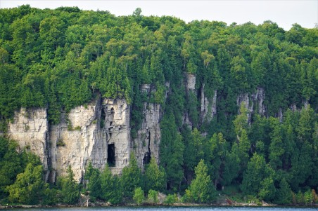 Door County cliffs