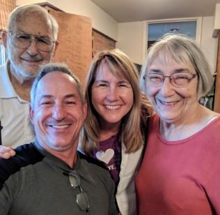 Niki's Mom and Dad (& crazy Bro) in Colorado