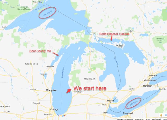 Summer map possibilites