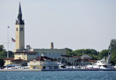Grosse Point Yacht Club - the elite of Detroit