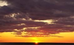 Michigan sunset