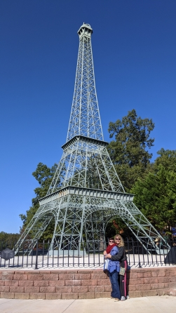 Yes, they have a duplicate Eiffel Tower in Paris, TN