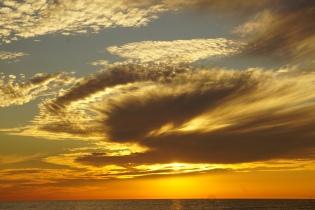 Gulf Crossing sunset 1