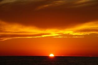 Gulf Crossing sunset