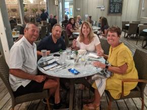 Great friends & food