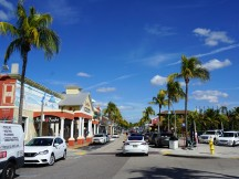 Main drag in Ft Myers Beach