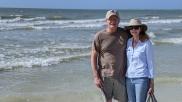 Greg & Leann at the beach