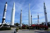 The very impressive Rocket Garden.